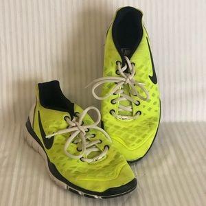 Neon Nike Free